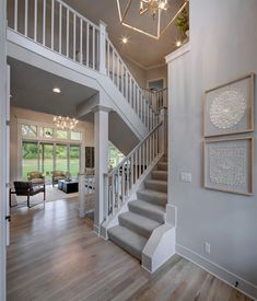 Johnson County Kansas, Models, Model Homes, Dream Life, Stairs, Board, Home Decor, Templates, Stairway