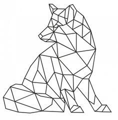 healthy snacks on the go for kids free online printable Geometric Drawing, Geometric Art, Geometric Animal, Hilograma Ideas, Art Origami, Dibujos Zentangle Art, Stylo 3d, Inspiration Drawing, Polygon Art