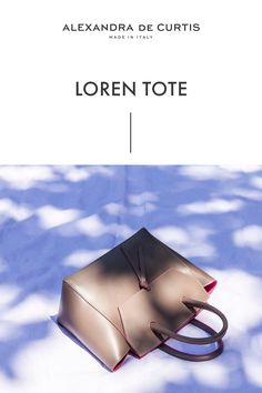 Are you looking for a designer leather handbag? Click through to check out the Loren Tote, handmade in Italy with smooth Italian Leather Handbags, Designer Leather Handbags, How To Make Handbags, Purses And Handbags, Best Work Bag, Italian Street, Work Tote, Brown Leather Handbags, Leather Pouch