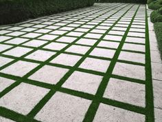 Image result for paver strip driveway