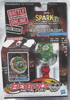 Where did these all go???  Beyblade DEATH QUETZALCOATL Metal Fury USA 2012 Balance Type New In Box HASBRO #Hasbro #Beyblade #Cyberontix
