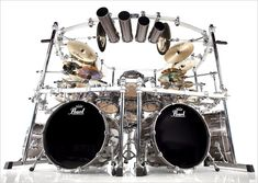 Mike Mangini's Pearl Kit