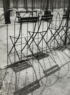 Jardin des Tuileries, Paris, 1927. Andre Kertesz | now on auction at Artcurial