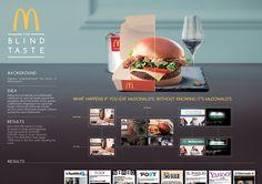 McDonald's - The Blind Taste on Behance