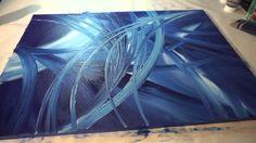 Abstrakte Malerei Full HD Sony Alpha 6000, Abstract Art Painting Demonst...
