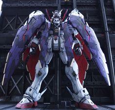 MG 1/100 Crossbone Gundam X-1 Full Cloth AMAZING Work by mattune