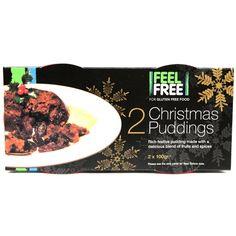 Feel Free Christmas Puddings at Ocado - #glutenfree