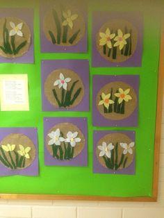 Alkuopettajat FB -sivustosta / Johanna Nousiainen Easter Activities, Spring Activities, Spring Art, Spring Crafts, Grade 1 Art, Art For Kids, Crafts For Kids, Easter Arts And Crafts, Paper Roll Crafts