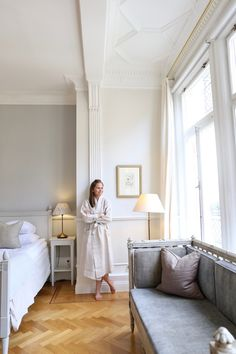 Homevialaura | Balmuir | Linen robe | Stockholm | Hotel Drottning Kristina