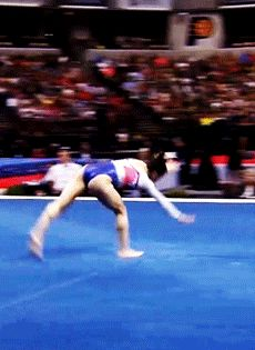 Aly Raisman sky-high double lay 2015 P&G's Day Gymnastics Tricks, Tumbling Gymnastics, Gymnastics Skills, Gymnastics Quotes, Gymnastics Training, Gymnastics Team, Acrobatic Gymnastics, Gymnastics Workout, Olympic Gymnastics