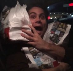 I feel you Dylan. I get excited about food also!