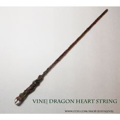 Meadow Harry Potter Inspired Wand (Vine Dragon Heartstring) ❤ liked on Polyvore featuring harry potter, wands and accessories