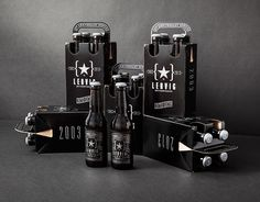 Lervig 10th Anniversary Beer on Packaging of the World - Creative Package Design Gallery