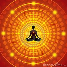 Meditation - Vector Illustration - Download From Over 51 Million High Quality Stock Photos, Images, Vectors. Sign up for FREE today. Image: 23701740