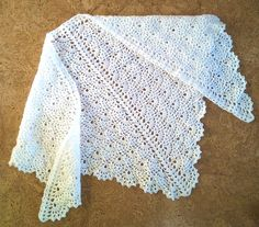 Ravelry: SmallFansShawl pattern by Olga Nikolaeva Crochet Prayer Shawls, Crochet Shawls And Wraps, Crochet Poncho, Crochet Scarves, Diy Crochet, Crochet Stitches, Crochet Hats, Crochet Designs, Crochet Patterns
