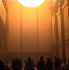 Remember The Weather Project? Tate Modern London, Turbine Hall, Olafur Eliasson, Installation Art, Weather, Artists, Sculpture, Space, My Love