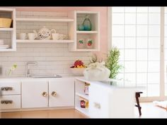 tutorial: miniature kitchen counter and shelf