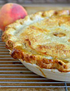 best ever peach pie