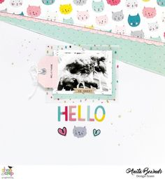 Hello by AnitaBownds at @studio_calico