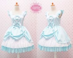 Turquoise Cute Jumper Skirt Sweetheart Neckline Sweet Lolita Dress - Kawaii - Girl Birthday Dress - Tea Party Dress - Custom to your size by CoruscateUnique on Etsy https://www.etsy.com/listing/199544955/turquoise-cute-jumper-skirt-sweetheart