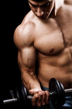Muscle Men Lifting Weights - I am looking to have a great body