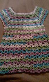 Ravelry: Easy No Sew Summer Baby Doll Top pattern by Sandra Lynn