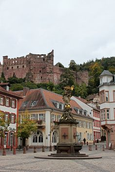 Heidelberg, Germany. I was in Heidelberg many years ago and loved the German Town.