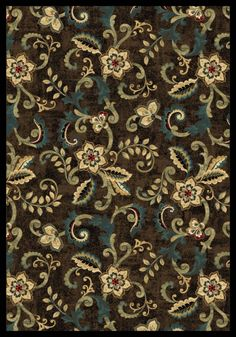 """Radiance Brookings Brown Area Rug (5'3"""" x 7'7"""")   Central Oriental Rugs   Home Gallery Stores"""