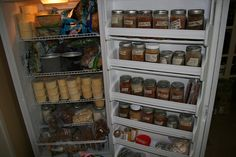 Real Food Kitchen Tour: The Promise Land Farm (blog)...her freezer.
