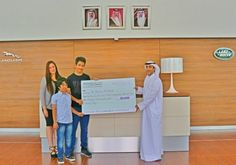 Euro Motors, the exclusive dealer and distributor for luxury automotive manufacturer Jaguar Land Rover in the Kingdom of Bahrain, announced Mr. Moanes Al Mardi to be the incredibly lucky winner of the Ramadan Grand Cash Prize of $30,030 that was offered through its '1001 Reasons to Celebrate' campaign.