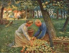 Orchard in Flanders - Emile Claus
