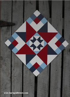Barn Quilt Patterns for Quilts - Bing images Barn Quilt Designs, Barn Quilt Patterns, Pattern Blocks, Quilting Designs, Quilt Square Patterns, Star Quilts, Quilt Blocks, Pallette, Painted Barn Quilts
