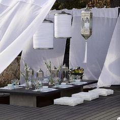 terraza chill out o ibicenca | Decorar tu casa es facilisimo.com
