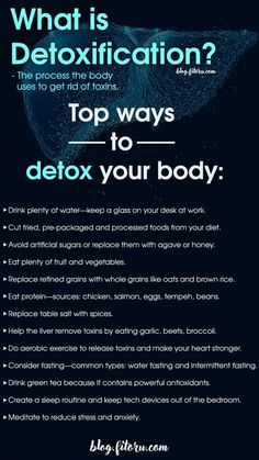 Your body absorbs toxins every day from pollutants in the air or excessive intake of processed food. These are the top ways to detox your body. Dietas Detox, Body Detox Cleanse, Full Body Detox, Detox Your Body, Detox Plan, Health Cleanse, Liver Cleanse, Detox Soup, Best Body Detox