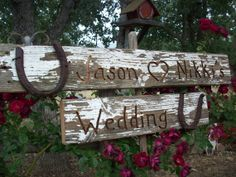 Country Wedding Sign Western/Barn/Outdoor Wedding Sign LARGE Reclaimed Wood on Etsy, $85.00