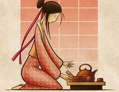 """Check out new work on my @Behance portfolio: """"Red, Tea Ceremony"""" http://be.net/gallery/33721018/Red-Tea-Ceremony"""