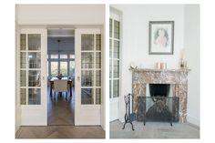 Jaren30woningen.nl | Mooie originele details in deze kamer en suite