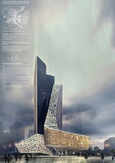 Architecture, Architecture visualization, Skyscraper architecture, Layout architecture, Futuristic a Parametric Architecture, Architecture Visualization, Concept Architecture, Futuristic Architecture, Amazing Architecture, Contemporary Architecture, Architecture Design, Architecture Colleges, Building Architecture