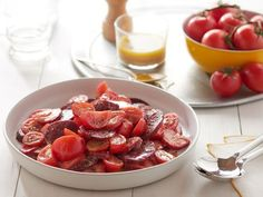 You've never seen a salad like this before! Combine beets, tomatoes and strawberries for a refreshing side worthy of any cookout. Brought to you by Behr.