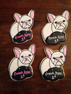 French Bulldog Cookies by Bo