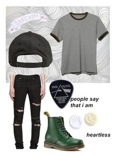 """Untitled #39"" by lali054205 ❤ liked on Polyvore featuring Yves Saint Laurent, L.L.Bean, Billabong, Dr. Martens, Floyd, men's fashion and menswear"
