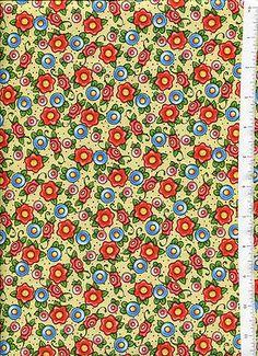 Mary Engelbreit Tea Decadence Floral Fabric Retired Tea Time | eBay