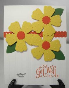 Stampin' Up!, Fun Flowers Bigz Die, Details at www.sandystamper.com
