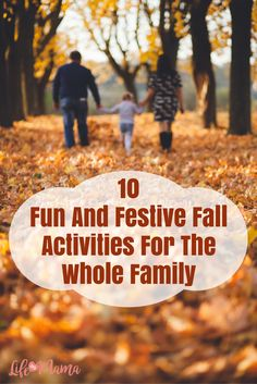 I could go on and on about why fall is so great, but on of the best things is that there are so many fun and festive activities you can do with the family this time of year. I guarantee the whole family will love these 10 fall activities.