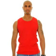 SOLID TANK Tank Man, Mens Tops, Shopping, Fashion, Moda, Fashion Styles, Fashion Illustrations