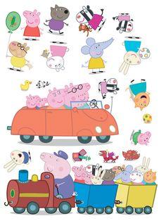 pig peppa stickers
