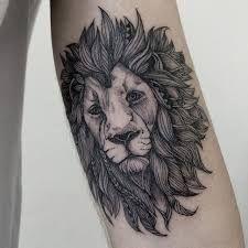 Resultado de imagem para tattoo tumblr lion