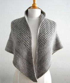 pointed firs pattern by Lori Versaci Inspired by the tops of the fir trees where I summer in Maine, POINTED FIRS is a textured, triangle Shawl Patterns, Knitting Patterns Free, Free Knitting, Knit Or Crochet, Crochet Shawl, Crochet Summer, Knitting Accessories, Knitted Shawls, Knit Scarves