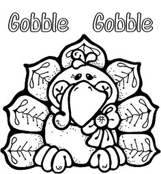 thanksgiving coloring pages printables | Thanksgiving Turkey Coloring Pages to Print for Kids