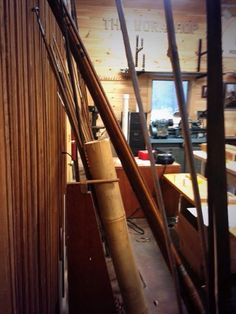 A view of bamboo. It's the first step of crafting cane rods. #catskillcatch of the day. #CFFCM #bamboo #flyfishing